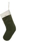 Ferm Living julestrømpe grønn
