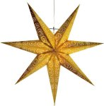 Star Trading Antique adventsstjerne 60cm