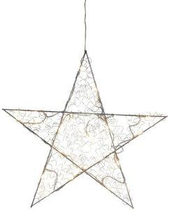 Star Trading Loop stjerne LED/batteri/timer 35cm