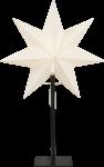 Star Trading Frozen adventsstjernepå fot 55cm