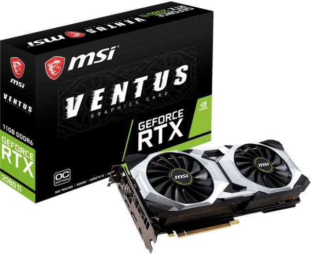MSI GeForce RTX 2080 Ti VENTUS OC 11GB