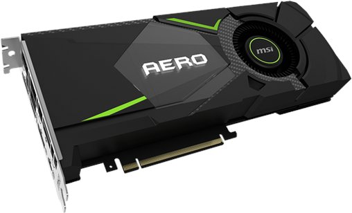 MSI GeForce RTX 2080 AERO 8 GB