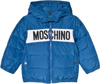 Moschino Down Branded Puffer Jacket