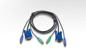 Aten PS/2 KVM Cable 2L-5002P/C
