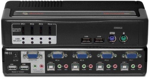 Avocent SwitchView 4-port MM2 4SVPUA20-202