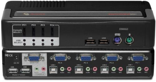 Avocent SwitchView 4-port MM2 4SVPUA20-202