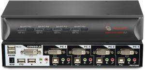 Avocent SwitchView 4-port DVI 4SVDVI10-202