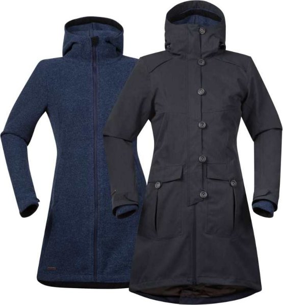Bergans Bjerke Lady Coat 3 in 1 (Dame)