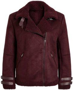 Vila Faux Sherling Jacket