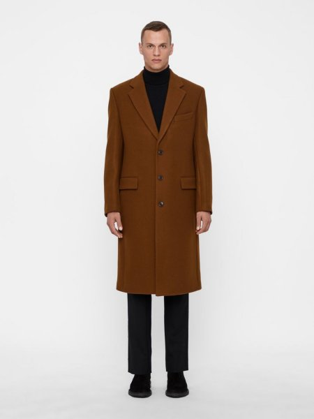 J.Lindeberg James Twill Melton Coat