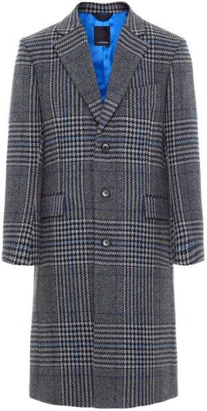 J.Lindeberg James Wool Plaid Coat