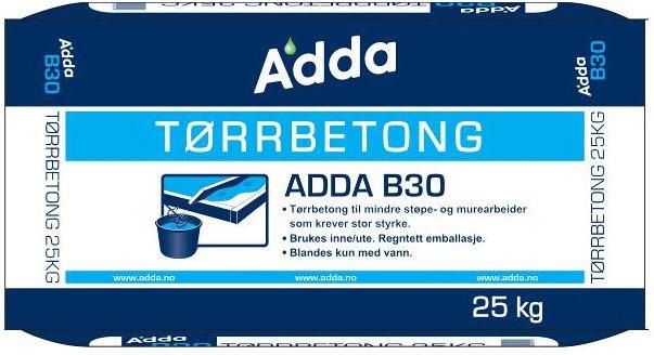 Adda Tørrbetong B30 25kg