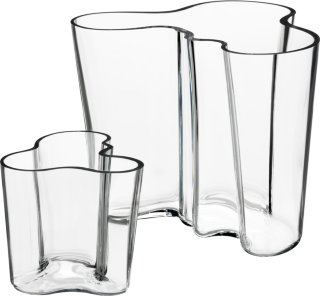 Iittala Aalto vaser 9,5 og 16cm