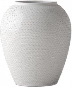 Lyngby Porcelæn Rhombe vase 17cm