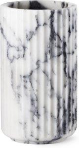 Lyngby Porcelæn Lyngby vase marmor 20cm
