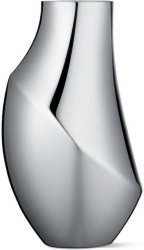 Georg Jensen Flora vase 23cm rustfritt stål
