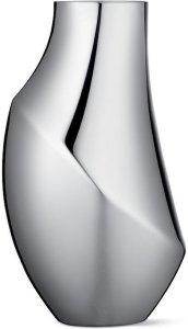 Flora vase 23cm rustfritt stål