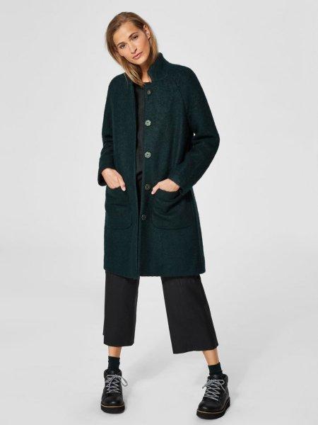 Selected Femme Nashwille Wool Mix Coat