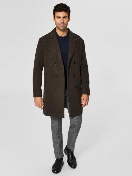 Selected Homme Wool Coat
