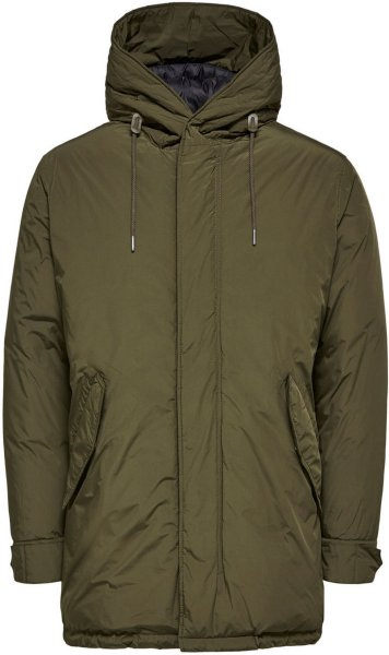 Selected Padded Parka Coat