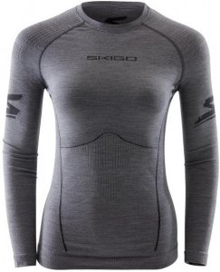 Skigo Elevation Wool Seamless Crew (Dame)