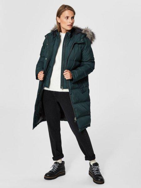 Selected Femme Down Parka Coat