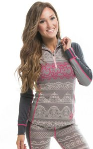 We Are Fit Lace Merino LS (Dame)