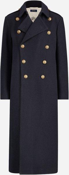 Ralph Lauren Aviator Wool Coat