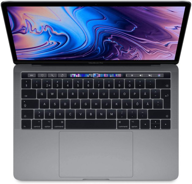 Apple MacBook Pro 13 i7 2,7GHz 16GB 2TB m/Touch Bar (Mid 2018)