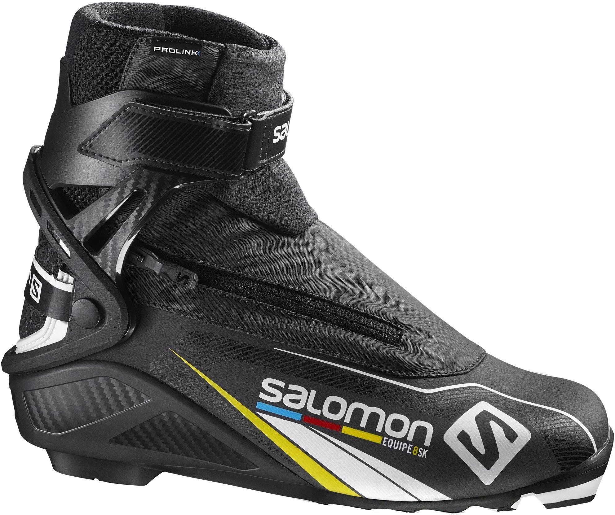Best pris på Salomon Equipe 8 Skate Prolink Se priser før kjøp