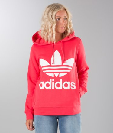 adidas Originals Women ADICOLOR TREFOIL HOODIE Hoodie
