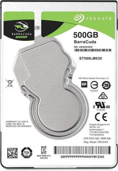 Seagate Barracuda 500GB (ST500LM030)