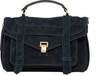 Proenza Schouler Bag Ps1 Medium Suede