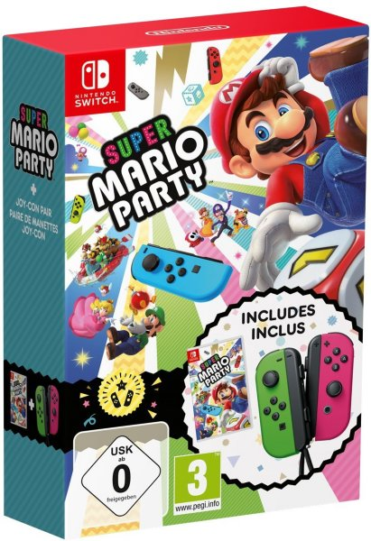 Nintendo Super Mario Party Joy Con (Par)