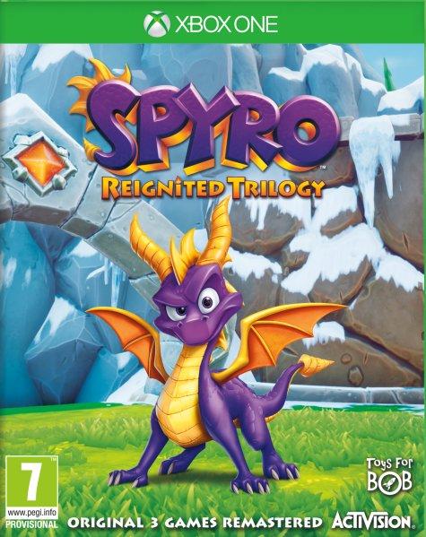 Spyro Reignited Trilogy til Xbox One