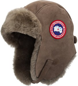Canada Goose Shearling Suede Hat