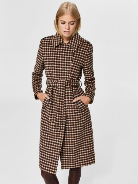 Selected Femme Wool Blend Coat