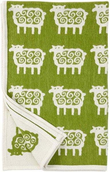 Klippan Yllefabrik Sheep pledd