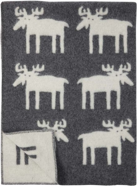 Klippan Yllefabrik Moose pledd