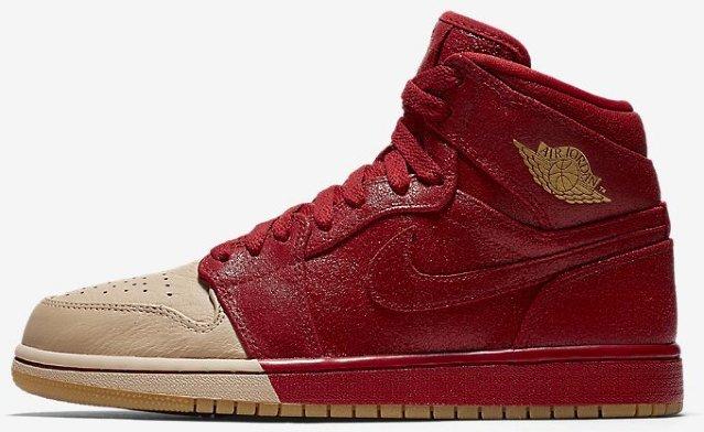 Nike Air Jordan 1 Retro High Premium (Dame)