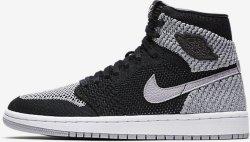 Nike Air Jordan 1 Retro High Flyknit (Barn)