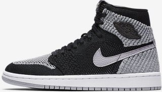 Nike Air Jordan 1 Retro High Flyknit (Barn)