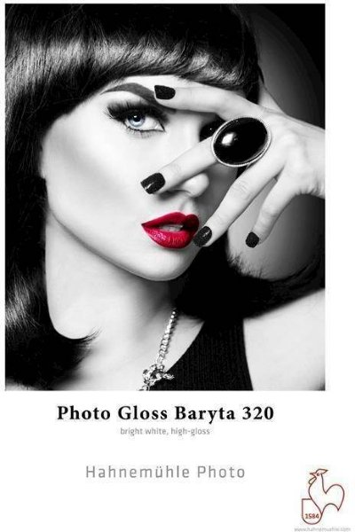 "Hahnemühle Photo Gloss Baryta 320 g/m² - 17"" x 15 meter"