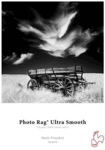"Photo Rag Ultra Smooth 305 g/m² - 44"" x 12 meter"