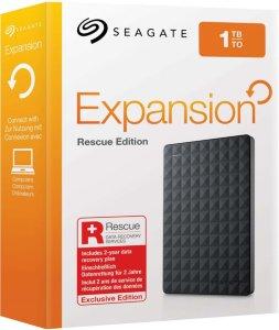 Seagate Expansion Portable 1TB Rescue Edition