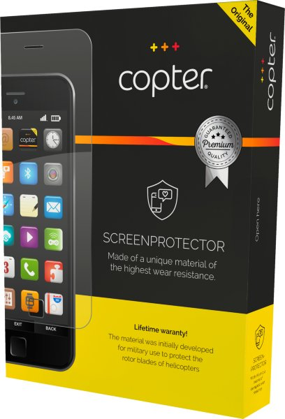 Copter Screenprotector Samsung Galaxy S9