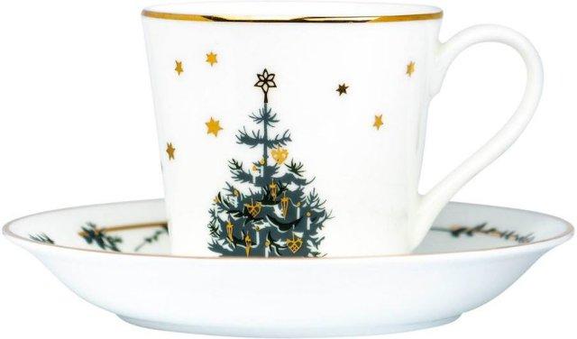 Jette Frölich Twinkle Stars kaffekopp med skål