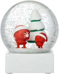 Hoptimist Santa Hoptimist snøkule