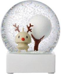 Hoptimist Rudolph snøkule