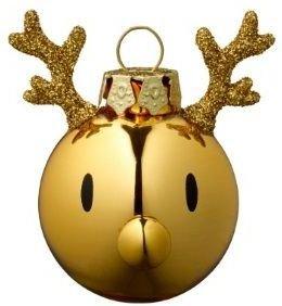 Hoptimist Reindeer julekule 3 stk